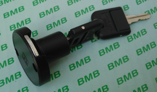 Germany bmb round swinging door lock black hnf shop for Door lock germany