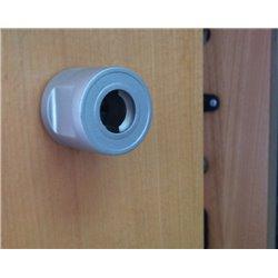 Floor Mounted Alloy Cylinda Door Stopper